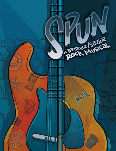 Spun Show Poster